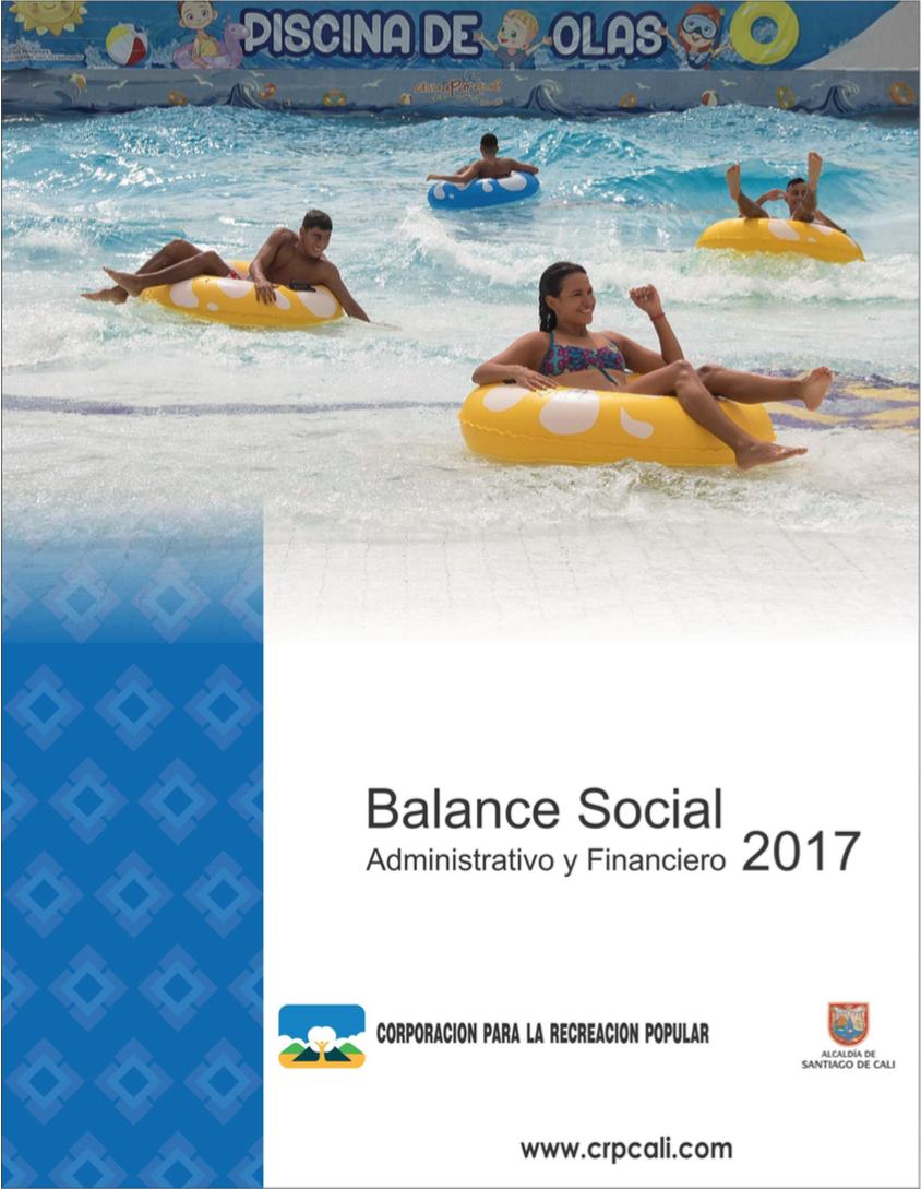 Balance Social administrativo y financiero 2017