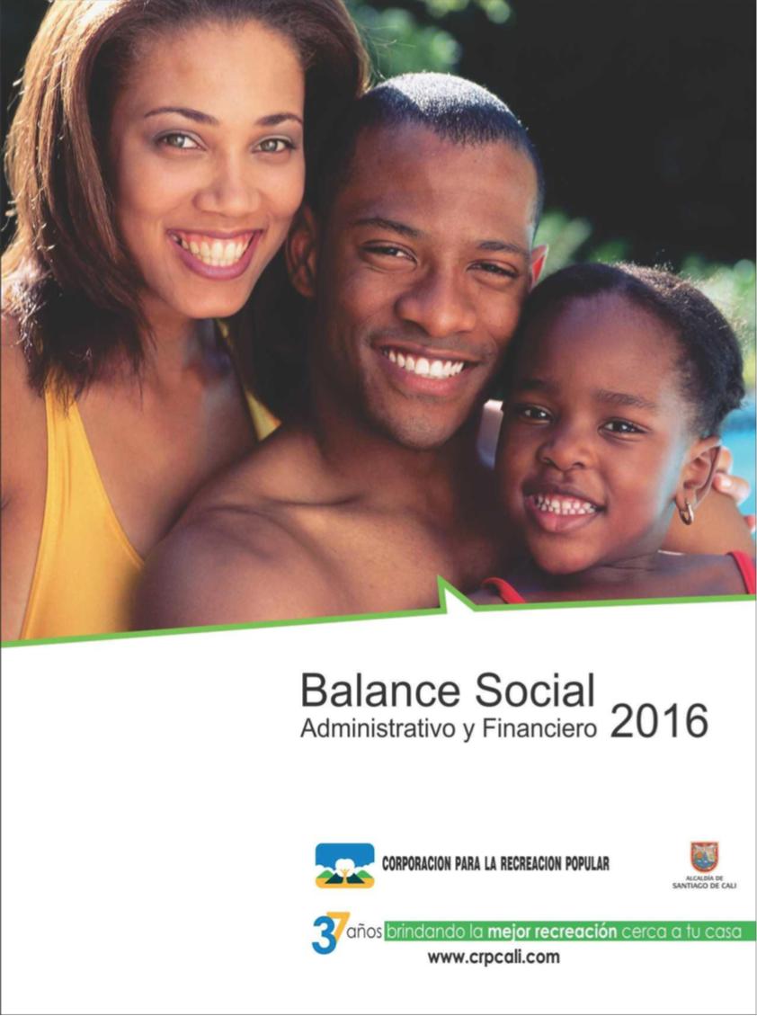Balance Social administrativo y financiero 2016