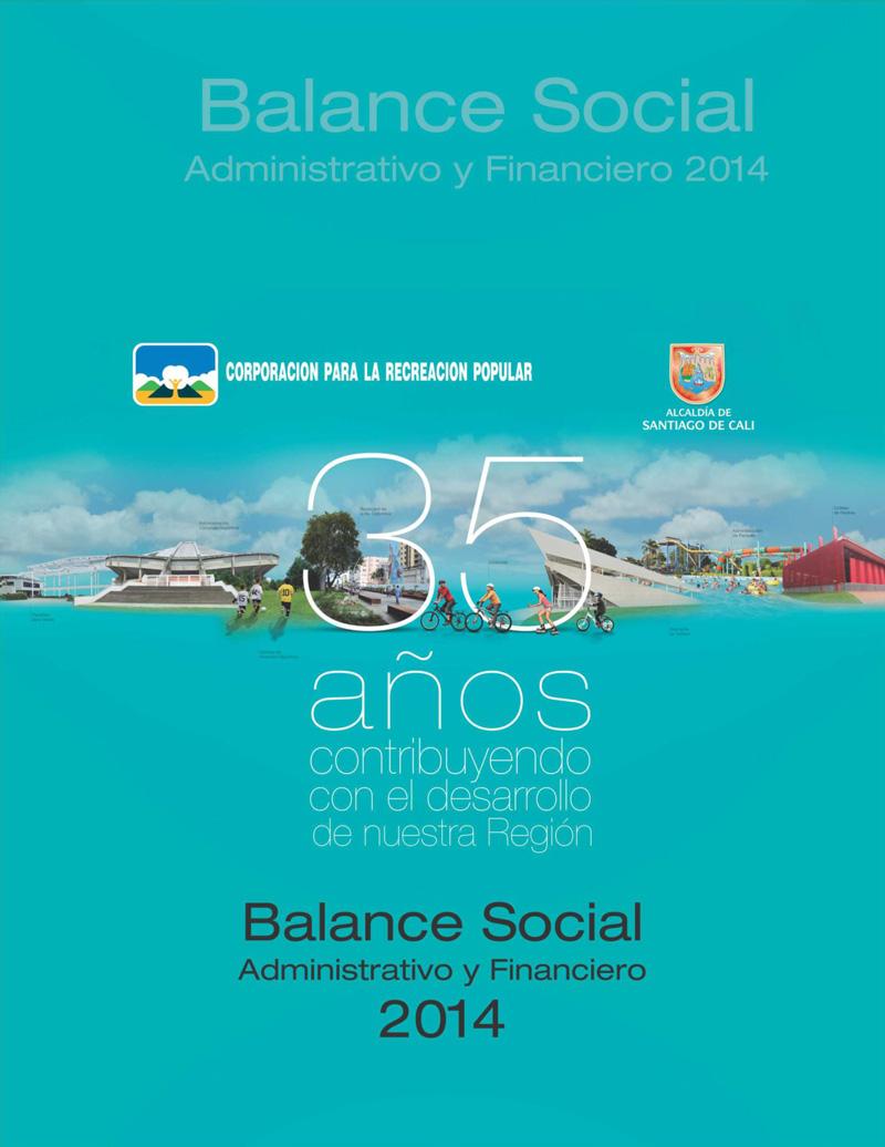 Balance Social administrativo y financiero 2014